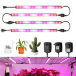New AC100-240V 24W Red:Blue 4:1 LED Grow Rigid Strip Light IP65 Plant Garden Greenhouse Flower Lamp
