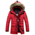 New Mens Winter Thick Warm Windproof Down Jacket Outdoor Parka