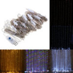 New 3M*3M DC5V USB 300 LED Fairy String Curtain Light Outdoor Garden Wedding Christmas Party Decor