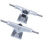 "New 1 Pair 250mm 8.37"" Silver Longboard Trucks Electric Skateboard Hanger Parts"