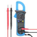 New ST-201 Digital Clamp Multimeter OHM Amp Meter AC/DC Current Voltage Resistance Tester
