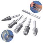 New 6pcs Router Grinding Burr Drill Bits Sets Grinder Metal Plastic Wood Rotary Tool
