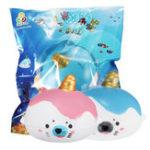 New Sanqi Elan Squishy Kawaii Sea Lion Mini Slow Rising Animal With Original Package
