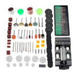 New 134pcs Electric Grinding Drill Accessories Set Mini Rotary Power Drills Multifunction Tools Kit