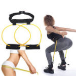 New KALOAD Women 120 cm 10lb Hip Butt Booty Belt Band Body Muscles Trainer Body Lifter Exercise Tools