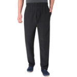 New Mens High Rise Thickened Warm Casual Pants