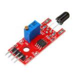 New 10pcs KY-026 Flame Sensor Module IR Sensor Detector For Temperature Detecting For Arduino