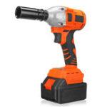 New 21V 16000mAh Brushless Impact Wrench LED Light Li-Ion Battery Cordless Electric Impact Wrench