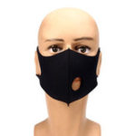 New Electric Valved Outdoor Riding Dust Mask PM2.5 Breath Protective Respirator
