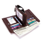 New Men Genuine Leather New Style Vintage Multi-Card Slot Wallet
