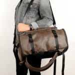 New Retro Large Capacity Designer Backpack Laptop Bag