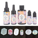 New UV Resin Soft Type Ultraviolet Solar Sunlight Curing Cure Activated Crystal DIY Jewelry Making Glue