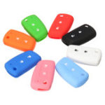 New 2 Buttons Car Remote Key Case Silicone Rubber Cover Fob Shell for Nissan Qashqai