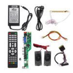 New T.RD8503.03 Universal LCD LED TV Controller Driver Board +7 Key button+1ch 6bit 40Pins LVDS Cable+Speaker+EU Power Adapter