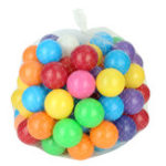 New 100pcs 8cm Baby Kid Pit Toy Swim Colorful Soft Plastic Ocean Ball Novelties Toys