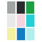 New 6x9FT Green Black White Blue Yellow Pink Grey Solid Color Photography Backdrop Studio Prop Background