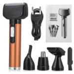 New Global Voltage 4 In 1 Electric Trimmer Nose Hair Eyebrow