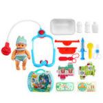 New Kids Medical Stethoscope Doctor Pretend Role Play Toy Nurse House Play Kit Developmental Toys