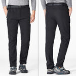 New Mens Winter Outdoor Waterproof Thicken Casual Pants