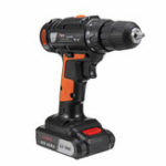 New 21V Electric Drill Cordless Dual Speed Screwdriver Power Tool Screw Driver