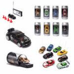 New Mini Coke Can Remote Radio Control Micro Racing RC Car