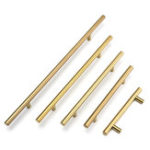 New 12mm Diameter Stainless Steel T Bar Handles Kitchen Cupboard Drawer Door Handles