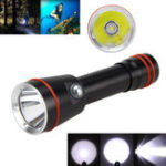 New Q21 L2 LED 2800LM 3 Modes Outdoor Portable Underwater Diving Flashlight 18650 Battery