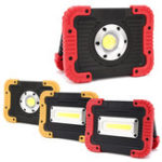 New 10W 750LM Outdoor Portable COB LED Flood Work Light USB Rechargeable Camping Tent Lantern