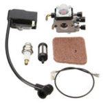 New Ignition Coil Carburetor Carb Kit For STIHL FS80 HL75 FS75 FS85 FC75 FC85 KM85