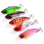 New ZANLURE 5pcs/set 6.5cm 10.5g VIB Fishing Lure Isca Artificial Pesca Hard Bait Wobbler