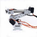 New DIY 6DOF RC Robot Arm Stainless Steel Robot Arm For Arduino