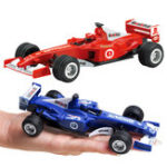 New Kids Toy Vehicles Pull Back Car Mini Formula Racing Car Collectable Educational Track Toys
