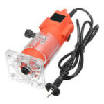 New 580W 28000RPM Electric Hand Trimmer Wood Laminate Palm Router Joiner Tool