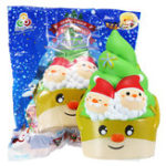 New Sanqi Elan Squishy Christmas Ice Cream Slow Rising Toy With Original Package