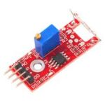 New 5pcs KY-025 4pin Magnetic Dry Reed Pipe Switch Magnetron Sensor Switch Module For Arduino