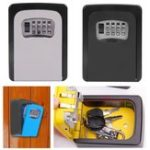 New Key Safe Storage Box Password Lock Home Company Construction Site Lock Case Wall Mounted