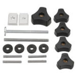 New Drillpro Woodworking Tool Accessary Quick Action Hold Down Clamp Handle Nut for T-Slot T-Tracks