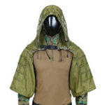 New TTGTACTICAL GH28 Military Sniper Ghillie Suit Outdoor Hunting Tactical Airsoft Sniper Camouflage Hood Jacket