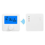 New LCD Wireless Digital Thermostat RF Heating Programmable Thermostat Thermometer for Electric Heating System
