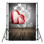 New 5x7FT Board Love Valentine's Day Photography Backdrop Studio Prop Background