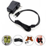 New 1.2A 220V 7.4V 2In1 Lithium Battery Charger Plug For Electric Gloves/Shoes/Socks