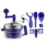 New Manual Meat Grinder Food Mixer Processor Vegetable Cutter Chopper Maker Kitchen Mincer Multifunction