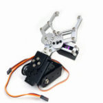 New 2DOF Robot Arm Gripper Clamp RC Robot Parts