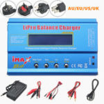 New iMAX B6 80W 6A Lipo Battery Balance Charger with Power Supply Adapter