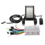 New 24V-48V 350W Brushless Motor Controller with LCD Display for Scooter E-Bike