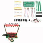 New DIY Single Chip Microcomputer Laser Harp Kit Electronic Piano Music Box