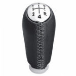 New 5 Speed Gear Shift Knob PU Leather For RENAULT Laguna Megane 2 Clio 3 03-09 Kangoo 2009