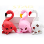 New Flamingos Rainbow Squeeze Ball Stress Relief Toy Funny Beads Toy Random Color