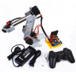 New DIY Arduino 6DOF Stainless Steel RC Robot Arm PS2 Stick Control