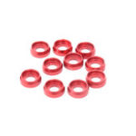 New 10PCS ALZRC Devil 380 420 465 450L X360 RC Helicopter Parts M2.0 Screw Washer Red